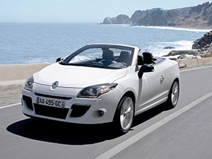 Renault Megane 2 дв. кабриолет Coupe-Cabriolet
